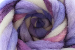 Wool roving Royalty Free Stock Image