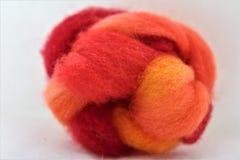 Wool roving Stock Photo