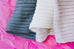 Wool scarf Royalty Free Stock Photos