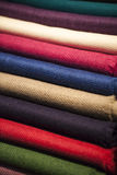 Wool scarfs Stock Photography