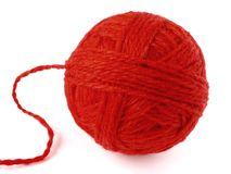 Wool skein Stock Image
