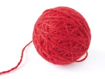Wool skein Stock Photo
