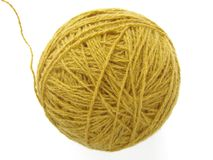 Wool skein Stock Images