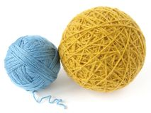 Wool skeins Stock Image
