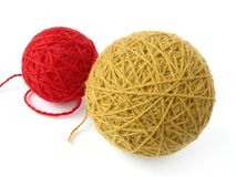 Wool skeins Royalty Free Stock Photography