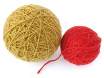 Wool skeins Royalty Free Stock Photo