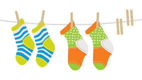 Wool Socks Stock Images