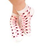 Wool socks Stock Image