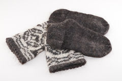 Wool socks Stock Photos
