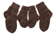 Wool socks Stock Photos