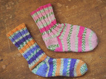 Wool Socks Royalty Free Stock Photography