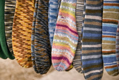 Wool Socks Stock Photo