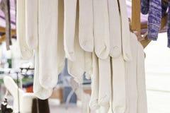 Wool socks handmade Royalty Free Stock Image
