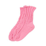 Wool socks isolated Stock Photo