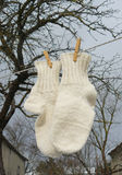 Wool socks Royalty Free Stock Image