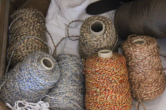 Wool spool Stock Photography