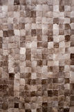 Wool squares texture Stock Image