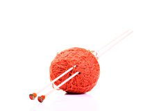 Wool and sticks Stock Photography