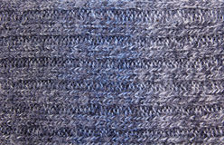 Wool stitch close up Stock Images