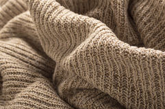 Wool sweater close up Royalty Free Stock Photos