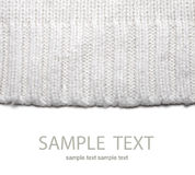 Wool sweater texture Stock Image