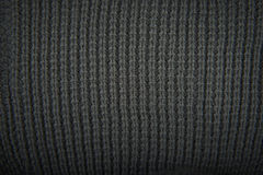 Wool texture. Close-up of knitted wool texture. Gray Royalty Free Stock Image
