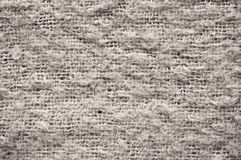 Wool texture in gray tone Stock Image