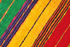 Wool texture. Multicoloured woven wool texture suitable as background Stock Photography