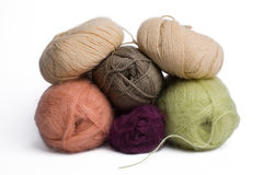 Wool Thread Royalty Free Stock Photography