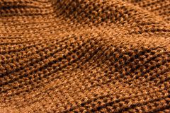 Wool. Wavy knitted wool background texture Stock Photos