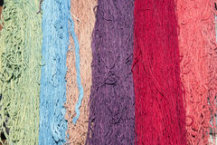 Wool for weaving carpets Royalty Free Stock Photos