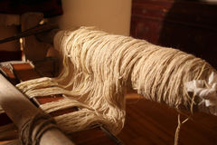 Wool winder machine Stock Photography