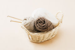 Wool yarn Stock Images