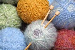 Wool yarn Stock Photos