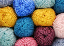 Wool yarn Stock Photo