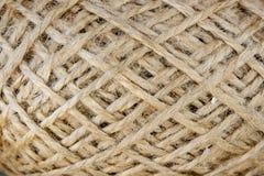 Wool yarn clew macro Stock Photos