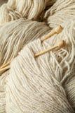 Wool yarn Stock Image