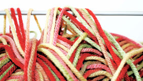 Wool/Yarn With Knitting Needle Royalty Free Stock Photo