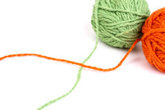Wool yarns Royalty Free Stock Photography