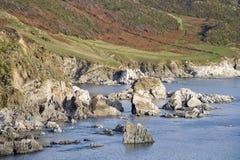 Woolacombe. Devon coast woolacombe england uk coast coastal Stock Photography