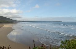 Woolacombe Bay on the Bristol Channel, North Devon Stock Photo