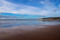Woolacombe Beach Stock Images