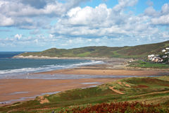 Woolacombe beach Royalty Free Stock Photo