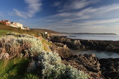 Woolacombe  North  Devon coast Stock Photo