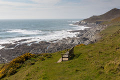 Woolacombe South West Coast Path Devon Royalty Free Stock Photography