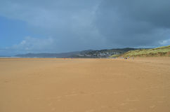 Woolacombe strand, norr Devon, England Royaltyfri Foto