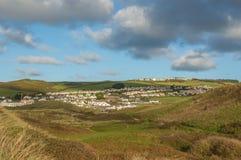 Woolacombe vicino a Barnstaple, Devon, Inghilterra Immagini Stock Libere da Diritti