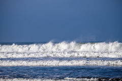 Woolacombe waves Royalty Free Stock Photography