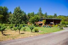 Wooldridge Creek Vineyard and Winery Stock Photos