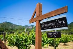 Wooldridge Creek Vineyard and Winery Stock Photography